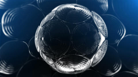 Abstract Glass Background V2 Stock Video Footage