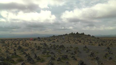 Laufskálavarða (Laufskalavarda) lava ridge timel Footage