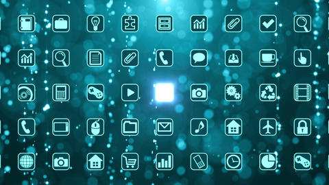 Smart Phone apps G Bm 2 HD Stock Video Footage