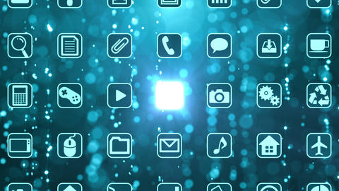 Smart Phone apps G Bm 2 HD Stock Video Footage