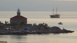 Makarska 1 stock footage
