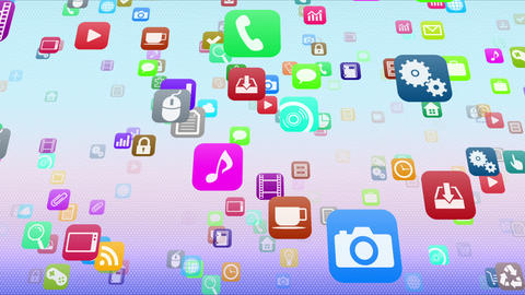 Smart Phone apps S Mb 1m 1 HD Stock Video Footage