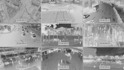 CCTV Stock Video Footage