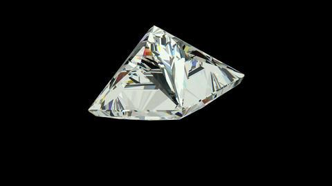 Princess Cut Diamond Stock Video Footage