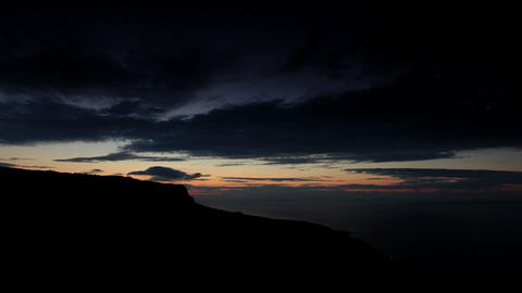Timelapse sunrise in the mountains Merdven-Kayasy Footage