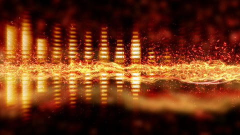 loopable background equalizer Stock Video Footage
