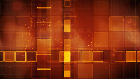 orange abstract loopable background rows of shinin Stock Video Footage