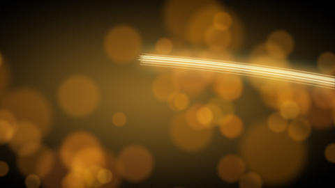 light streak and blurred circle lights Stock Video Footage