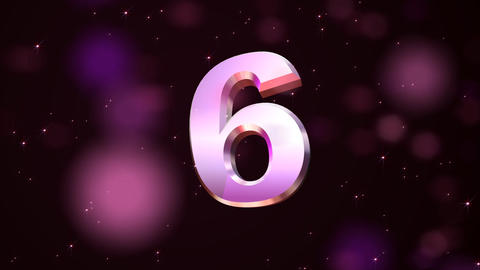countdown explosion 3d Animation