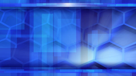 looping blue glossy high-tech background Stock Video Footage