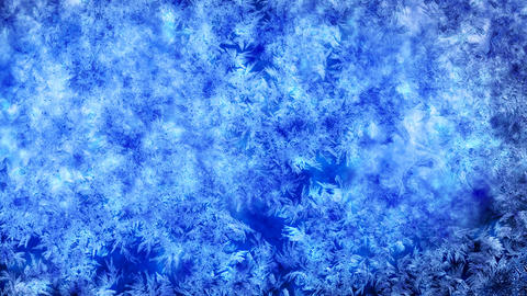frost background with luma matte second half are l Animation