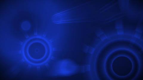 blue shiny circles seamless loop background Animation