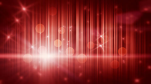 stars lights and vertical stripes red loop backgro Stock Video Footage