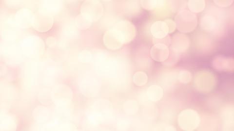light-coloured pink yellow circle lights loopable Stock Video Footage