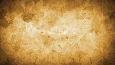 old dirty stained paper and vintage film effects Stock Video Footage