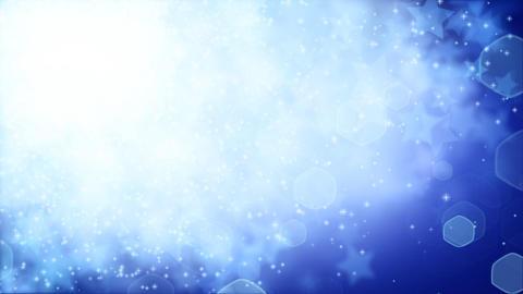 stars on blue background loop Stock Video Footage