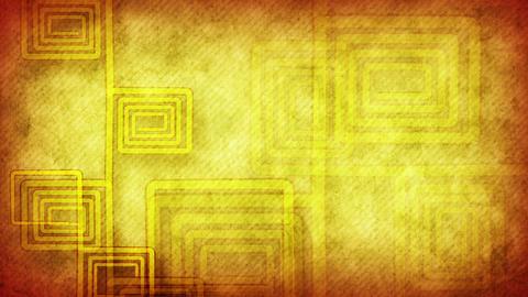grunge flourish yellow loopable background Stock Video Footage