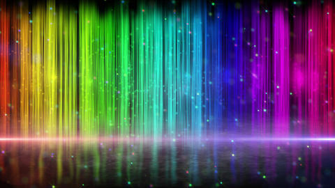 rainbow color stripes abstract loopable background Animation