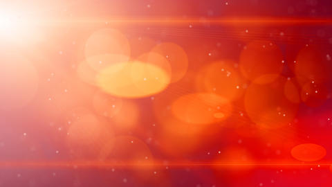 red abstract background light beams and particles Stock Video Footage
