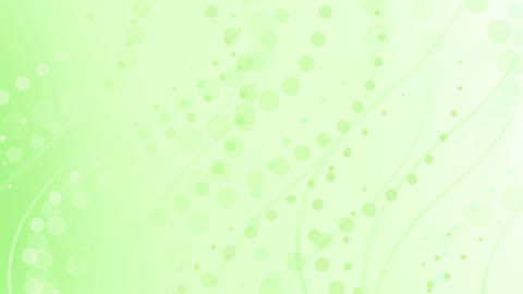 pale lime green curves and circles Animation
