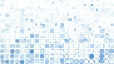 blue liquid squares loopable pattern animation Stock Video Footage