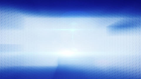 blue blur flashes and cells loopable background Stock Video Footage