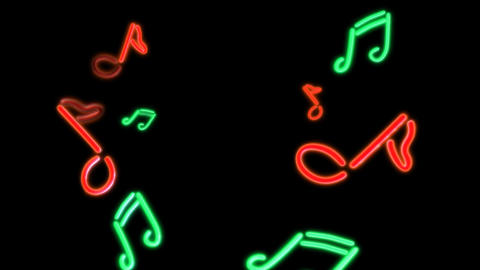 neon Music Animation