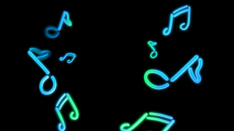 neon Music random Animation