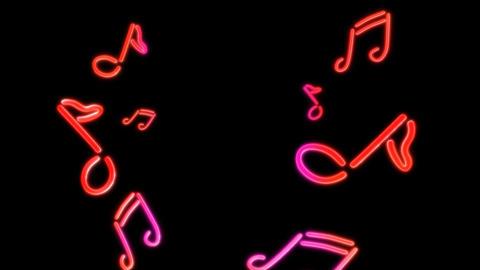neon Music random Stock Video Footage