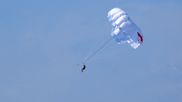 Paragliding 2 Stock Video Footage