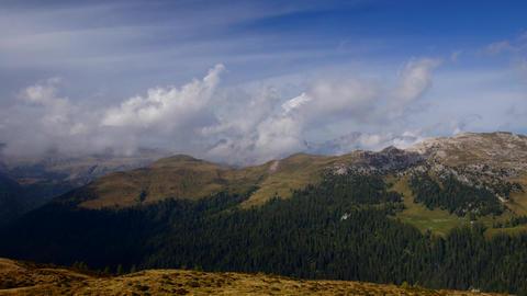 Italian Alps, Dolomites Stock Video Footage