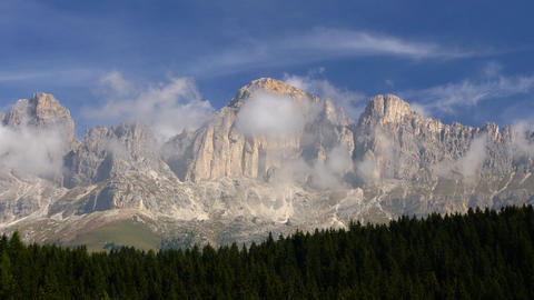 Italian Alps, Dolomites Stock Video Footage