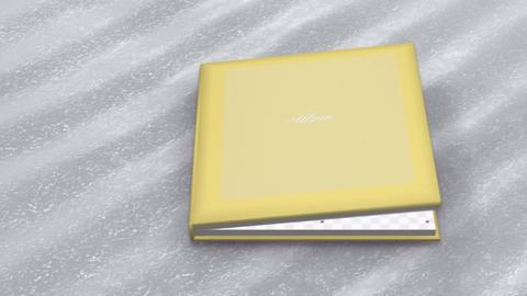 Photo Album Book 2 A bb HD Stock Video Footage