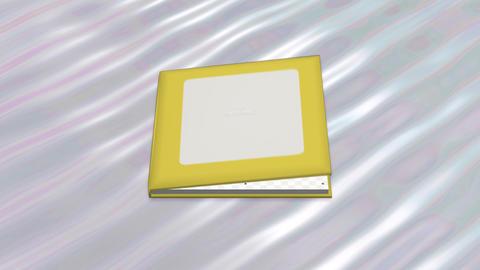 Photo Album Book 2 C aa HD Stock Video Footage