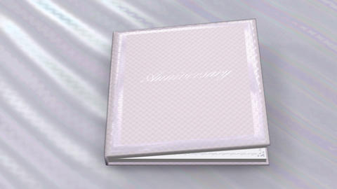Photo Album Book C ba HD Stock Video Footage