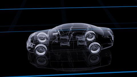 Car Den Ca HD Stock Video Footage