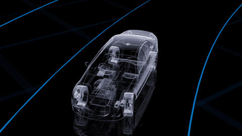 Car Den Ca HD Animation