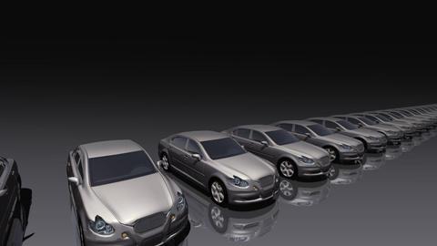 Car BG Sedan fb Stock Video Footage