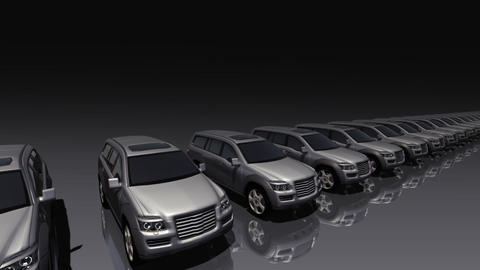 Car BG SUV fb, Stock Animation