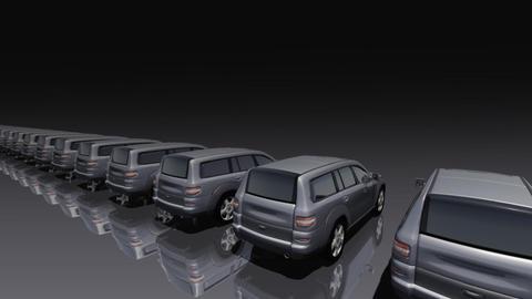 Car BG SUV rb Stock Video Footage