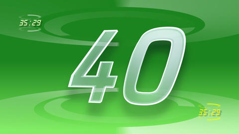 CountDown Number A1 c HD Stock Video Footage