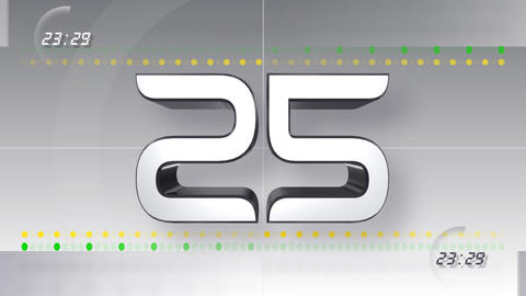 CountDown Number CC a HD Animation