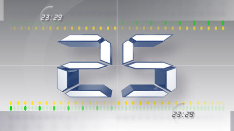 CountDown Number DD a HD Stock Video Footage