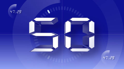 CountDown Number D a HD Stock Video Footage