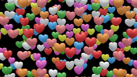 heart pan RaLa Stock Video Footage