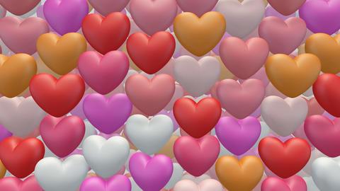 heart pan Saa Stock Video Footage