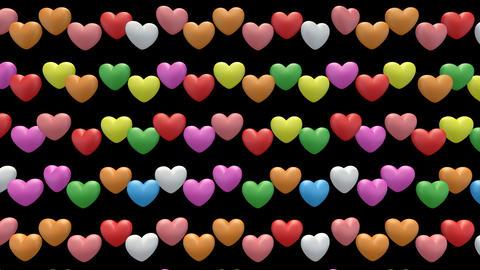 heart pan WLa Stock Video Footage