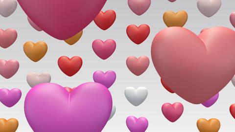 heart in aa Stock Video Footage