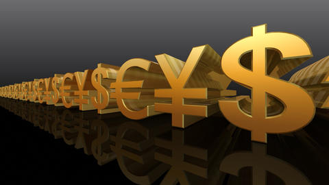 Money Symbol Ab Stock Video Footage