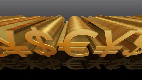 Money Symbol Cb Stock Video Footage